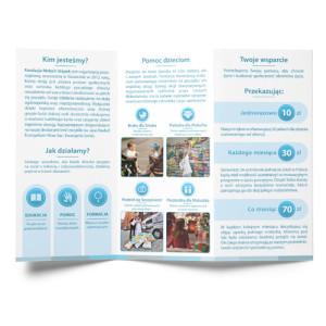 Mini folder Fundacji Małych Stópek