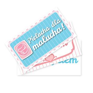 Wizytówki Pielucha dla Malucha – podziel się szczęściem!